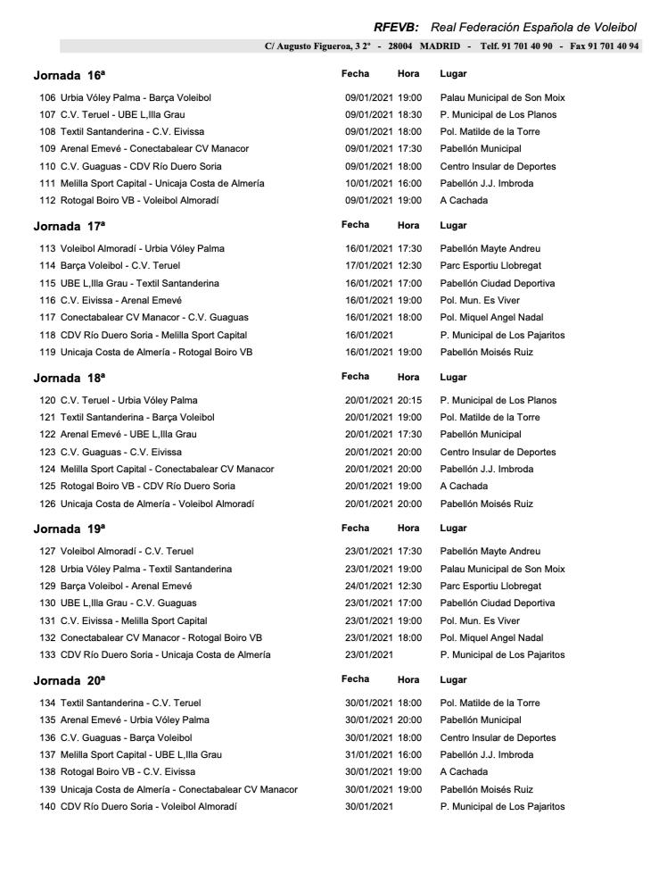 calendario 2020/2021 cvteruel 4