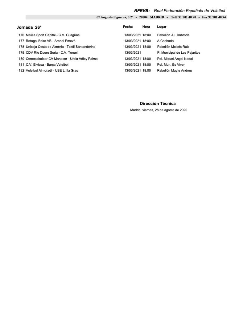 calendario 2020/2021 cvteruel 6